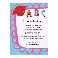 Preschool Graduation Announcements Preschool Graduation Invitation To Parents
