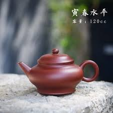 Famous tea master pure handmade Purple Clay <b>teapot 120mL</b> ...