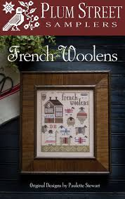 French Cross Stitch Charts French Woolens Cross Stitch Chart