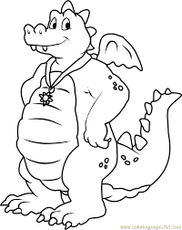 Small Picture Dragon Tales Ord Blue male Dragon Coloring Page Free Dragon