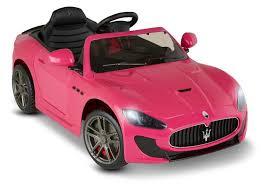 Avigo Maserati GranTurismo MC Centennial 6 Volt Ride On - Pink ...