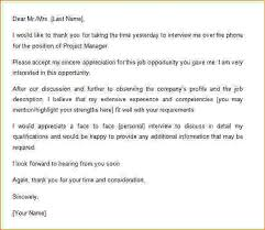 Ideas Collection Sample Follow Up Letter To Phone Interview For Your