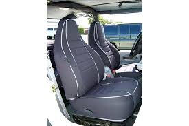 rear seat covers wet neoprene for chevy silverado crew cab