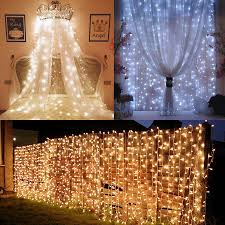 Twinkle Icicle Led Lights Us 8 99 30 Off Beiaidi 3x2m 3x3m Curtain Icicle Led String Light Outdoor Christmas Twinkle Fairy Light Wedding Backdrop Window Icicle Light In Led