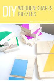 diy wooden shapes puzzles 6