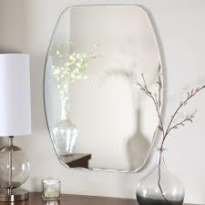 Décor Wonderland Frameless Freddie Wall Mirror - 23.5W x 32.5H in ...