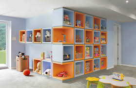 basement shelving modern