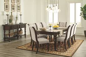 amazing 8 chair dining room set porter table ashley furniture home 13 8 chair dining room set remodel