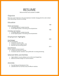 Resumes Formats Magnificent Types Of Ideal Resumes Formats Free Career Resume Template