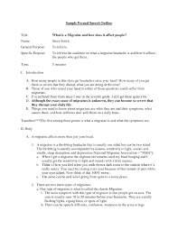 Presentation Speech Example Awesome Speech Outline Examples Sample ...