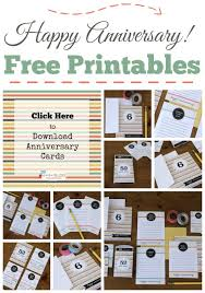 Printable Free Anniversary Cards Printable Happy Anniversary Cards Editable Todays