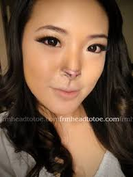 i want something subtle for the nose that will allow people to know that its a rabbit but something that won t ruin my overall look of it being dark this