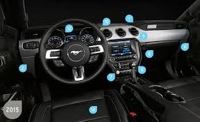 2015 ford mustang interior. how ford made the new mustangu0027s interior better than ever 2015 mustang s