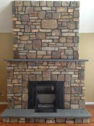 Custom Stone Fireplace built in Goshen NY | Earth and Stone