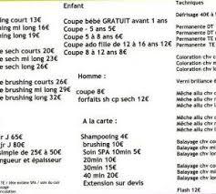 Coiffure Mariage Prix 42 Salon Coiffure Prix