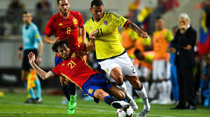 Spain V Colombia International Friendly Match Report Goals