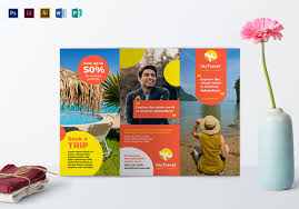Flyer Template For Pages 40 Best Travel And Tourist Brochure Design Templates 2019