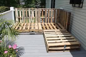 outdoor pallet deck furniture. Image Of: Pallet Outdoor Sectional Outdoor Pallet Deck Furniture