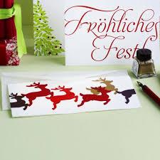 Weihnachtskarten Basteln Anleitungen Fur Kreative Living At Home