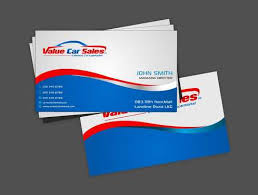 Sales Business Cards Value Car Sales Business Cars By Paulfrench472