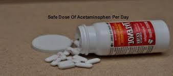 Safe Dose Of Acetaminophen Per Day Highest Safe Dose Of