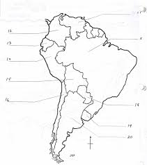 North And South America Blank Map North And South America Map Quiz Hoozin Me