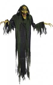 MR123111   Hanging Witch 72 Inch Animated