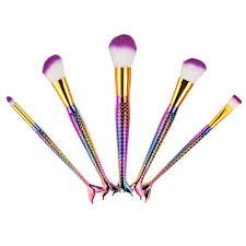 cute makeup brush set. mermaid makeup brushes-cute-makeup-brushes cute brush set