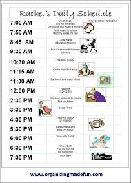 Daily Routine Chart For 9 Year Old Kid Schedule I Had These When Kids Were Little But Feel