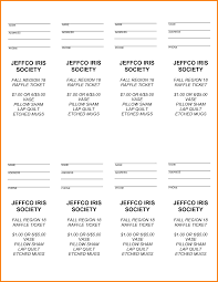 raffle ticket template word receipt templates microsoft word raffle ticket template pdf