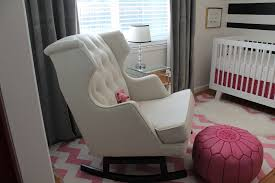 mesmerizing pink rug and baby nursery gliders and rockers and rocking chairs for nursery plus