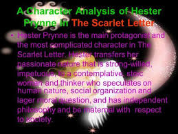 the scarlet letter ppt video online a character analysis of hester prynne in the scarlet letter