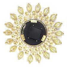luxury diamond large wall clocks