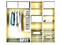 hanging closet storage shelf with rod wood shelves solutions floating diy close