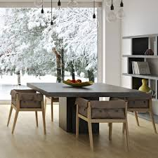 concrete dining table. Dusk Concrete Dining Table By TemaHome - Nuastyle