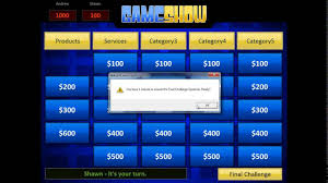 Powerpoint Game Show Template Powerpoint Gameshow Template Tutorial Youtube