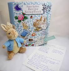 Peter Rabbit Recipe Scrapbook
