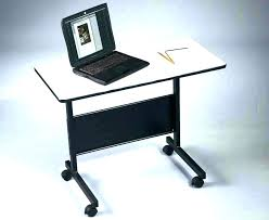 compact computer table folding computer desk desk on wheels computer desks with wheels folding computer desk