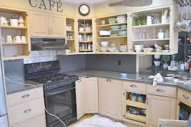 chalk paint kitchen cabinetshomeroad Chalk Painted Kitchen Cabinets