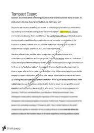 area of study discovery essay tempest year hsc english  area of study discovery essay tempest