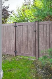 Vinyl fence designs Pvc Fence Pictures Of Vinyl Fencing Beautiful Vinyl Wood Grain Fence Gates From Illusions Vinyl Fence Pictures Of Pictures Of Vinyl Fencing Mollyurbancom Pictures Of Vinyl Fencing Facts You Need To Know About Vinyl Fences