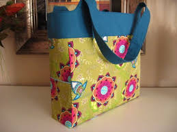 Free Tote Bag Patterns Simple Kerri Made's Sturdy Tote Bag Free Sewing Tutorial PatternPile