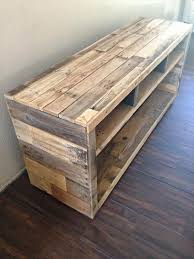 wood pallet furniture diy. diy pallet media console table furniture wood diy