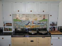 Tile Murals For Kitchen Hand Painted Kitchen Tiles And Tile Murals