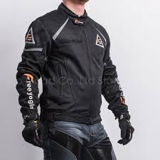 2018 motorcycle racing riding jacket summer wear breathable mesh coat fabric hard protective overalls motorcycle clothing nj wy409 black from vi son