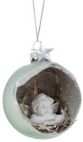 "<b>Украшение новогоднее</b> подвесное <b>Winter Wings</b> ""Ангел"", диаметр ..."