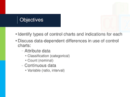 Module 6 Part 3 Choosing The Correct Type Of Control Chart