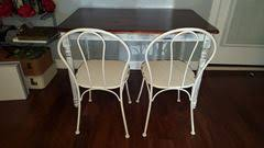 distressed metal furniture. Picture Of Furniture (Rustic Metal Chairs) - Distressed T