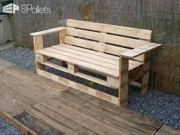 pallet furniture pinterest. Pallet Bench Benches Chairs Stools Furniture Diy Pinterest