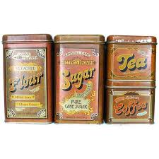 54 best vintage tins images on vintage tins vintage within stylish vintage metal kitchen canisters pertaining to desire